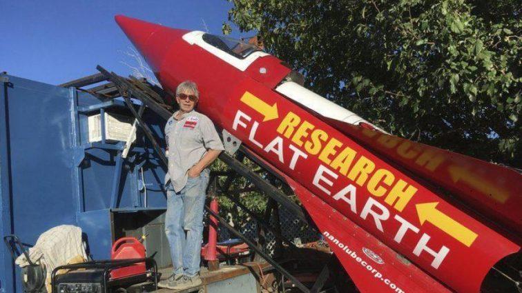 Неужели Земля плоская? Ответ на этот вопрос пытается найти американский изобретатель