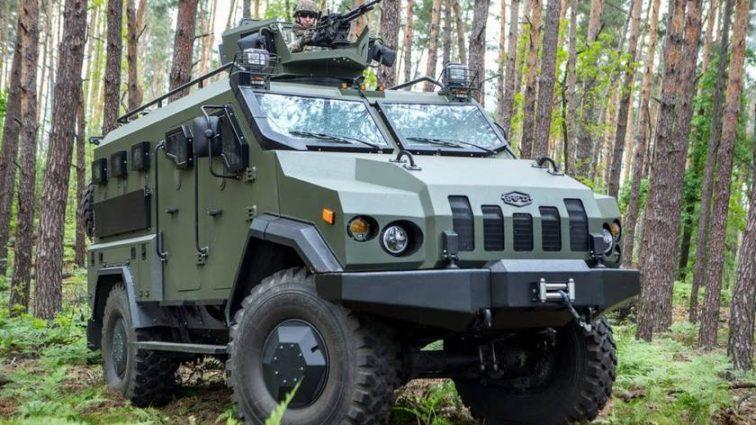 В Украине создали мощный броневик нового поколения