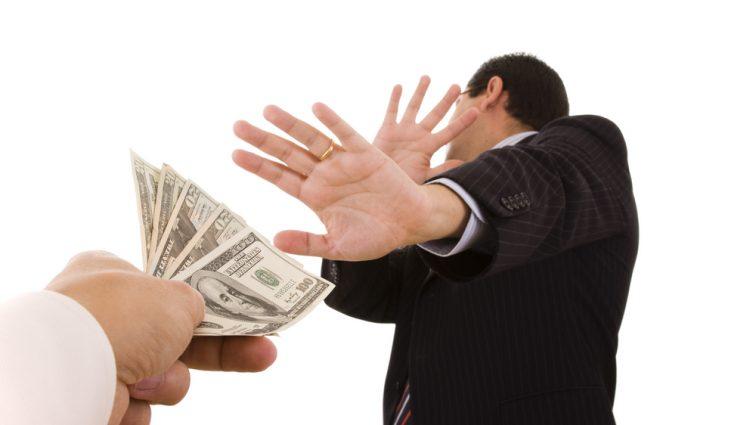 Когда в Украине начнут бороться с коррупцией? Новый закон против взяточников.