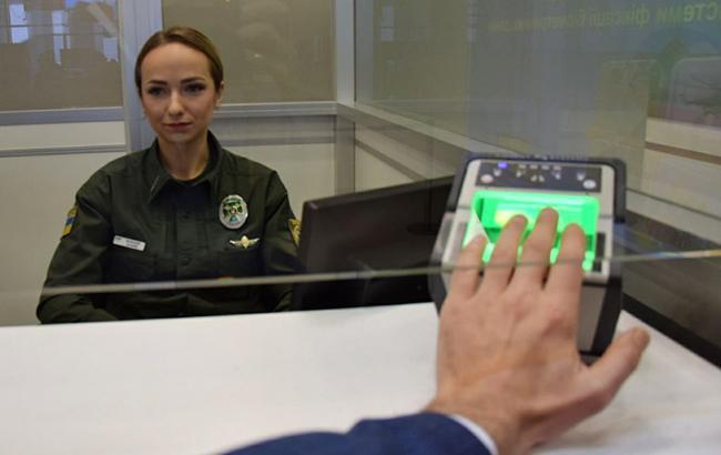 Сегодня заработал биометрический контроль на границе с Россией