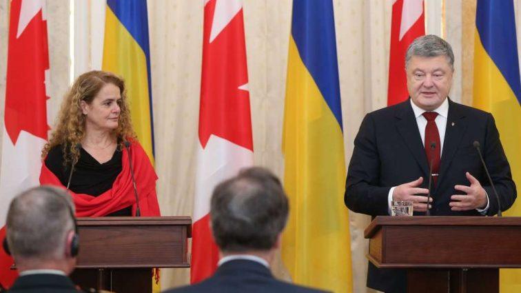 Соглашение о свободной торговле увеличило товарооборот между Украиной и Канадой на 60%, — Порошенко