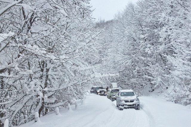 Сильные морозы и снегопады уже надвигаются на Украину. Готовьтесь!