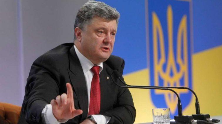 Порошенко рассказал, чего стоила блокада Донбасса Украине