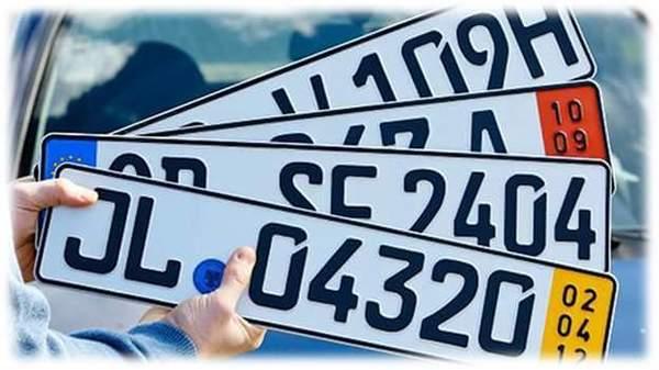 Водителям: уже в этом году традиционные автомобильные номера заменят на цифровые