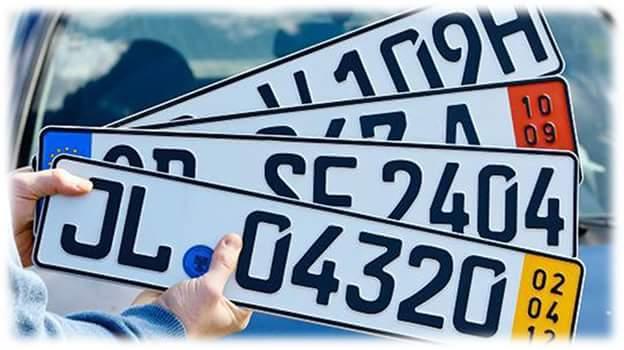 Очередной штраф за еврономера: узнайте детали