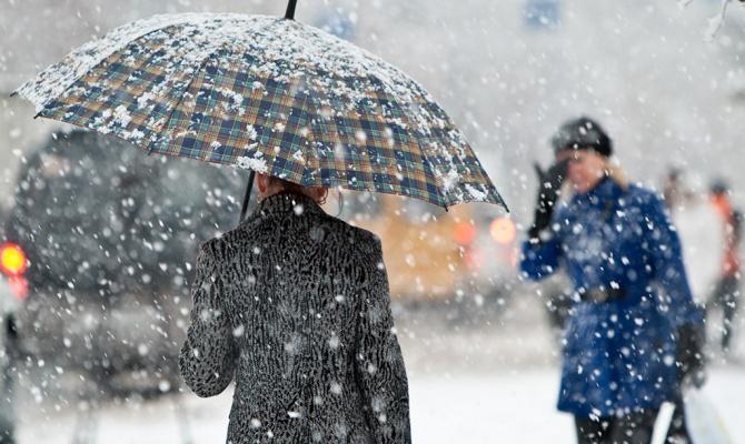 Дождь, местами снег: прогноз погоды на 9 февраля