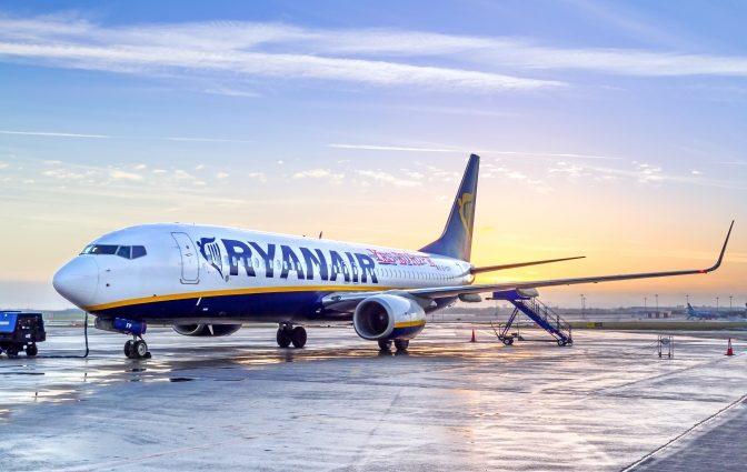 «Ryanair уже в Украине»: объявлены первые рейсы