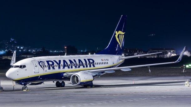 Ryanair внес изменения в расписание полетов