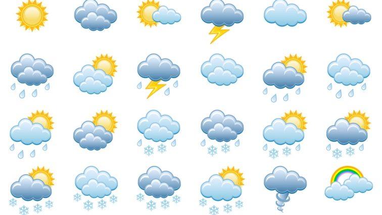 Прогноз погоды на 12 мая