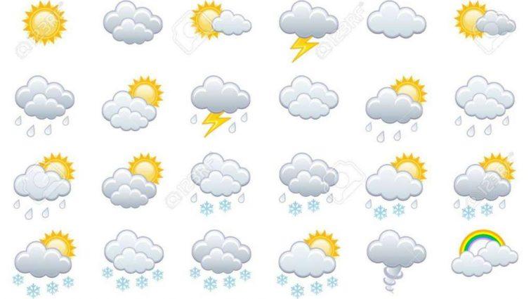 Прогноз погоды на 25 апреля