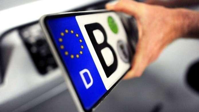 Существует проблема с легализацией авто на еврономерах: читайте, что не так