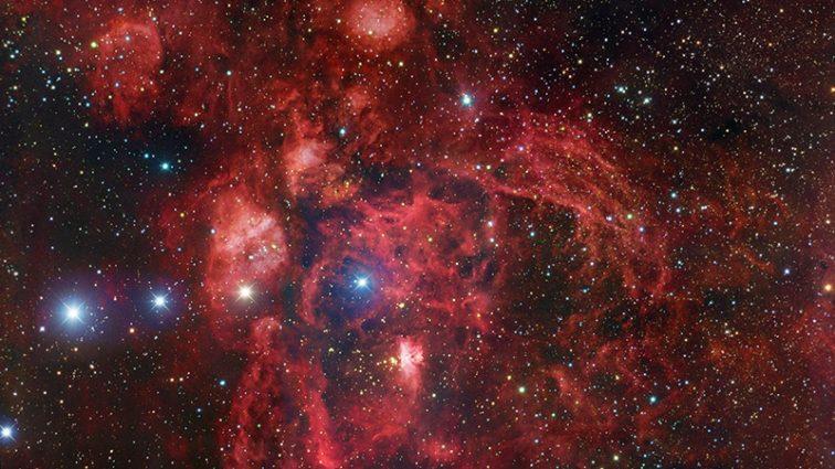 Асторономы показали Колыбель звезд и Солнце в ультрафиолете