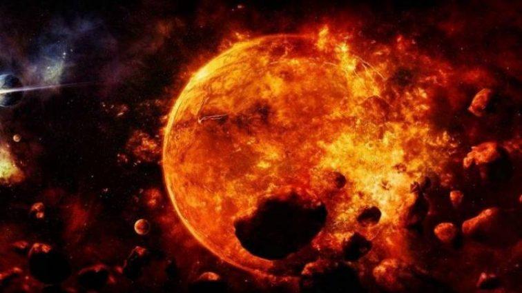 Мощный взрыв в космосе, который пронесся по всей Солнечной системе