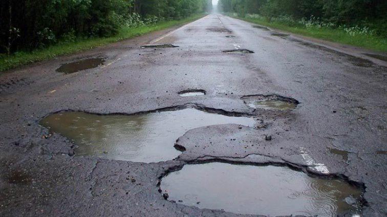 Украина заняла место в топ-10 стран с наихудшими дорогами мира