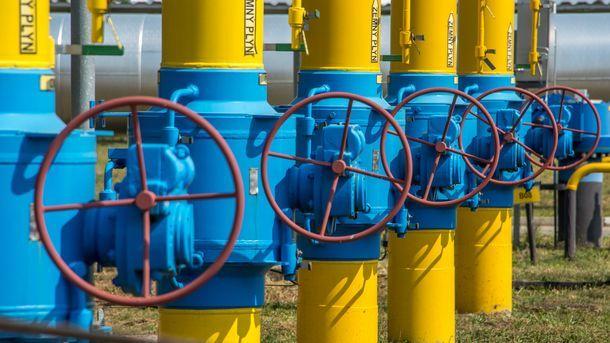 Украина заметно снизила закупки газа за границей