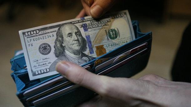 Доллар в Украине упал в цене