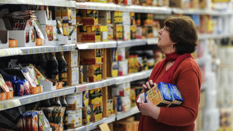 Названы области Украины с самыми дешевыми ценами на продукты