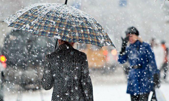 Между снегом и дождем: прогноз погоды в Украине на неделю